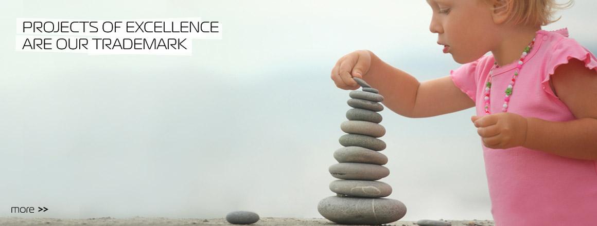 Projectos de excelência, são a nossa marca